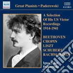 Us victor recordings 0 cd musicale di PADEREWSKI
