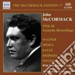 Edition vol.7: the acoustic recordings ( cd musicale di John Mccormack