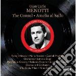 THE CONSUL, AMELIA AL BALLO               cd musicale di MENOTTI GIAN CARLO