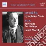 Sinfonia n.6 cd musicale di Antonin Dvorak