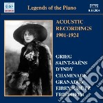LEGENDS OF THE PIANO (1901-24 RECORDINGS  cd musicale di Miscellanee
