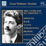 Integrale delle registrazioni, vol.2 : 1 cd musicale di Fritz Kreisler