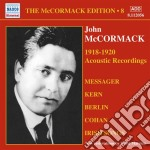 Edition vol.8: the acoustic recordings ( cd musicale di John Mccormack