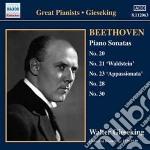 Beethoven Ludwig Van - Sonate Per Pianoforte Nn.20, 21, 23, 28, 30 cd musicale di Beethoven ludwig van
