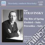 Sagra della primavera, petrushka, l'ucce cd musicale di Igor Stravinsky