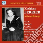 Kathleen ferrier: arias and songs cd musicale di Katheleen Ferrier