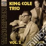 Vol.2: transcriptions, 1939 cd musicale di King cole trio