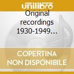Original recordings 1930-1949