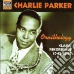 Ornithology, classic recordings 1945-194 cd musicale di Charlie Parker