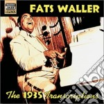 The 1935 transcriptions cd musicale di Fats Waller