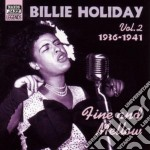 Fine and mellow, original recordings vol cd musicale di Billie Holiday