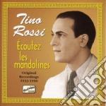 ????coutez les mandolines, original recordi cd musicale di Tino Rossi