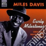 Early milestones, original recordings 19 cd musicale di Miles Davis