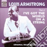 Vol.2: i've got the world on a string, o cd musicale di Louis Armstrong