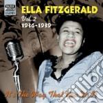 Vol.2: 1936-1939: it's the way that you cd musicale di Ella Fitzgerald