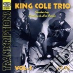 Trascriptions, vol.3 (1939) cd musicale di King cole trio