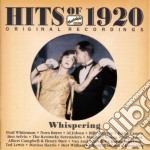 Hits of 1920 - whispering, original reco cd musicale