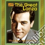 The great lanza, mario lanza vol2, orign cd musicale di Mario Lanza