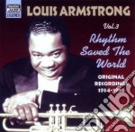 Rhythm saved the world, original recordi cd musicale di Louis Armstrong