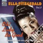 Oh! lady be good, original recordings vo cd musicale di Ella Fitzgerald
