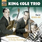Trascriptions & early recordings, vol.6 cd musicale di King cole trio