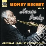 House party, original recordings vol.4: cd musicale di Sidney Bechet