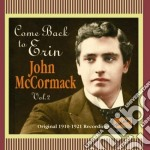 Come back to erin, original recordings v cd musicale di John Mccormack
