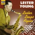 Lester leaps again, original recordings cd musicale di Lester Young