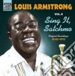 Sing it, satchmo; original recordings vo cd musicale di Louis Armstrong