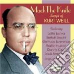 Mack the knife - liriche di kurt weill ( cd musicale di Kurt Weill