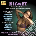Kismet (musical, original broadway cast cd musicale