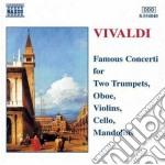 Concerti celebri: x 2 trombe, x oboerv 4 cd musicale di Antonio Vivaldi