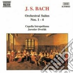Suite (ouvertures) n.1 > n.4 bwv 1066 > cd musicale di Johann Sebastian Bach