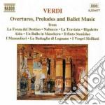 Ouvertures, preludi e balletti da: la fo cd musicale di Giuseppe Verdi