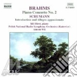 Piano concerto no.2 op.83 cd musicale di BRAHMS