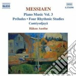 Opere x pf (integrale) vol.3: preludi, 4 cd musicale di Olivier Messiaen