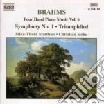 Opere x pf a 4 mani (integrale) vol.6: s cd musicale di Johannes Brahms