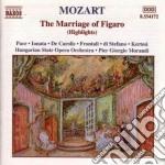 Nozze di figaro (estratti) cd musicale di Wolfgang Amadeus Mozart