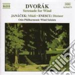 Serenata x fiati op.44 cd musicale di Antonin Dvorak