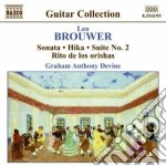 Guitar music volume 3 cd musicale di BROUWER