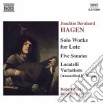 Solo works for lute cd musicale di HAGEN