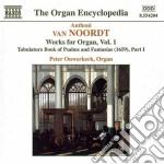 Opere x organo (integrale) vol.1: libro cd musicale di Noordt van anthoni
