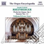 Organ works vol.1 cd musicale di RHEINBERGER