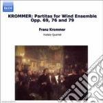 Partita x fiati op.69, op.76, op.79 cd musicale di Franz Krommer