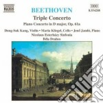 Concerto triplo op.56, concerto per pian cd musicale di Beethoven ludwig van