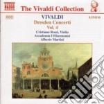 Concerti di dresda vol.4: concerti rv 24 cd musicale di Antonio Vivaldi