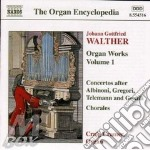 Organ works vol.1 cd musicale di WALTHER