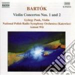 Concerti per violino cd musicale di Bela Bartok