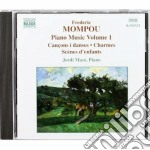 Opere x pf (integrale) vol.1: cancons i cd musicale di Frederic Mompou