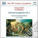 Symphonies vol.1 cd musicale di VANHAL